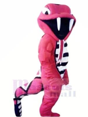 Cobra roja feroz Disfraz de mascota