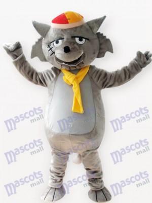 Lobo gris Animal adulto Disfraz de mascota