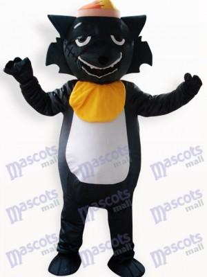Animal Lobo Negro Adulto Disfraz de mascota Animal