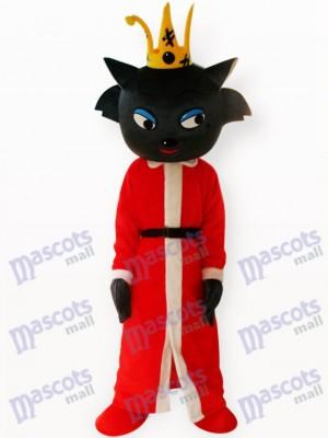 Lobo en abrigo rojo Disfraz de mascota Animal