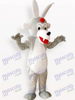 Lobo de madera feroz Disfraz de mascota Animal