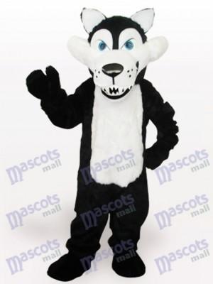Lobo de vientre blanco Disfraz de mascota Animal