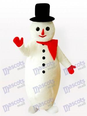 Muñeco de nieve barrigón Navidad navidad Disfraz de mascota