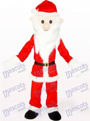 Rojo y blanco Navidad navidad Papa Noel Disfraz de mascota