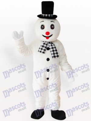Muñeco de nieve adulto Navidad navidad Disfraz de mascota