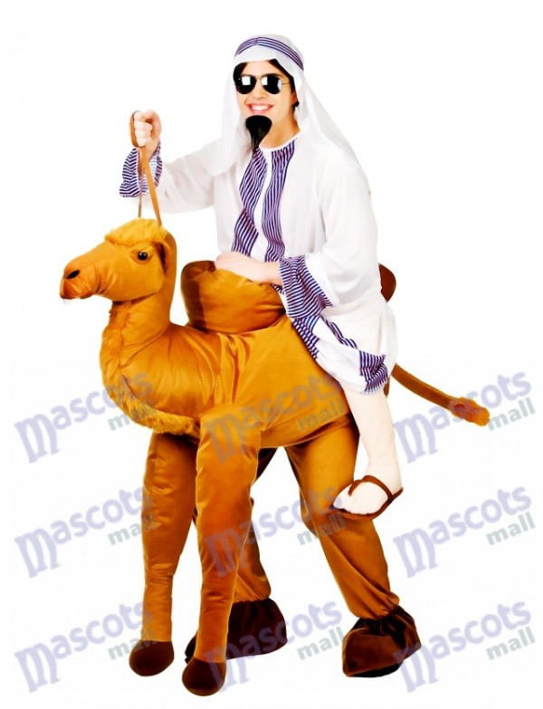 Camello Llévame Traje de la mascota Ride A Camel Disfraz