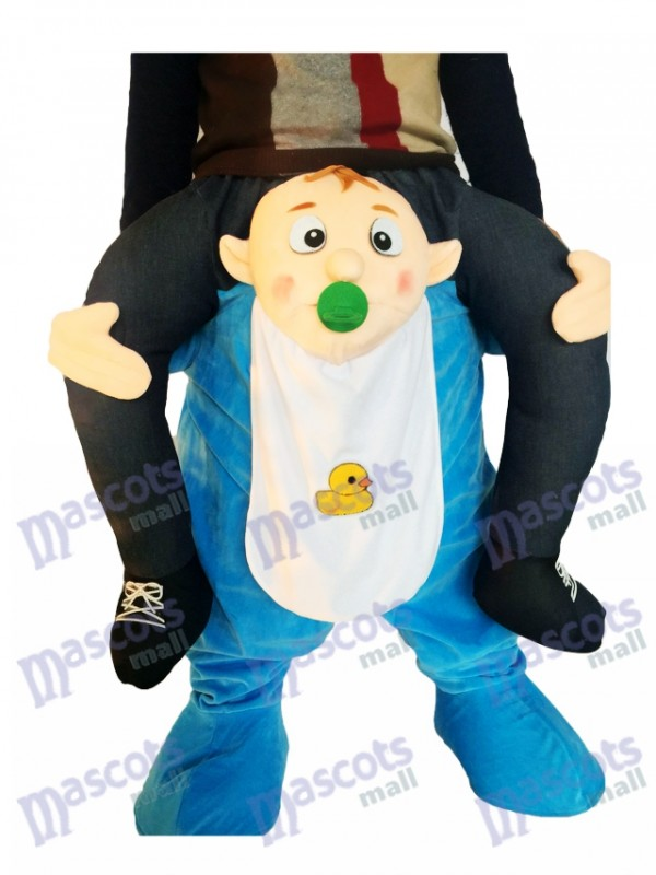 A cuestas Bebé Llévame Seguir adelante Infantil Traje de la mascota
