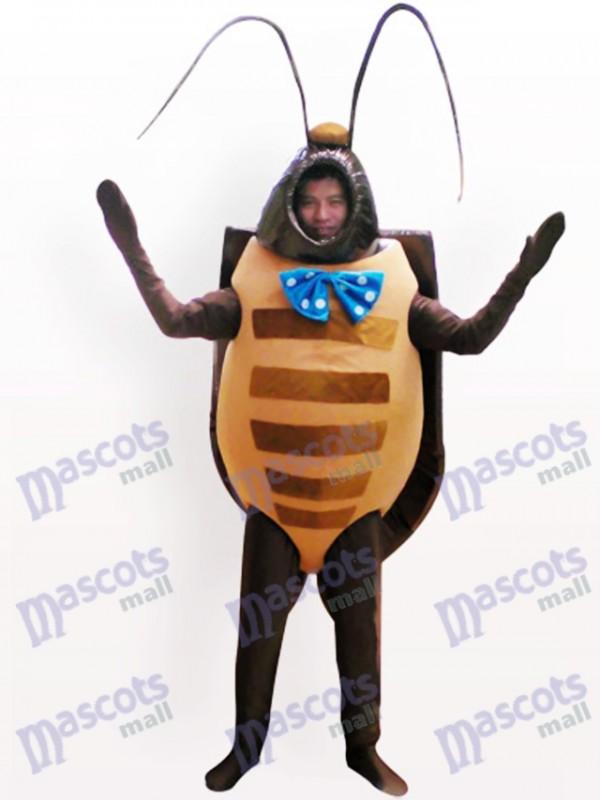 Escarabajo negro Disfraz de mascota
