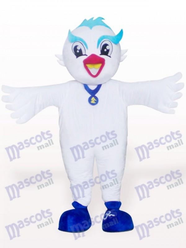 Paloma pájaro Disfraz de mascota