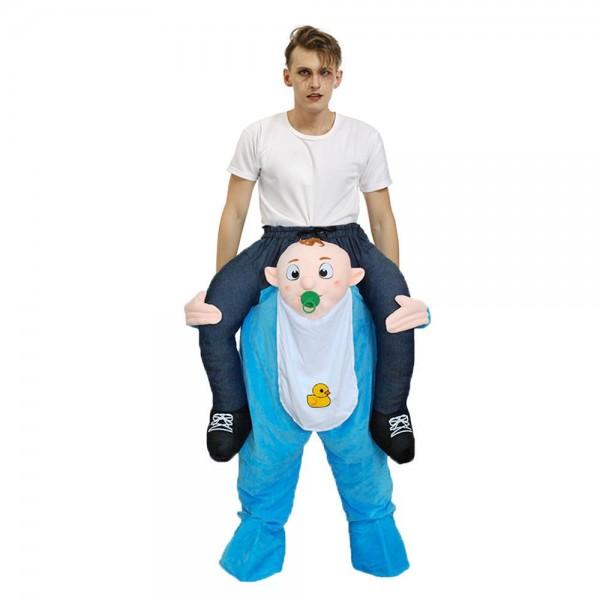 Bebé Llévame Seguir adelante Disfraz para adulto/niño