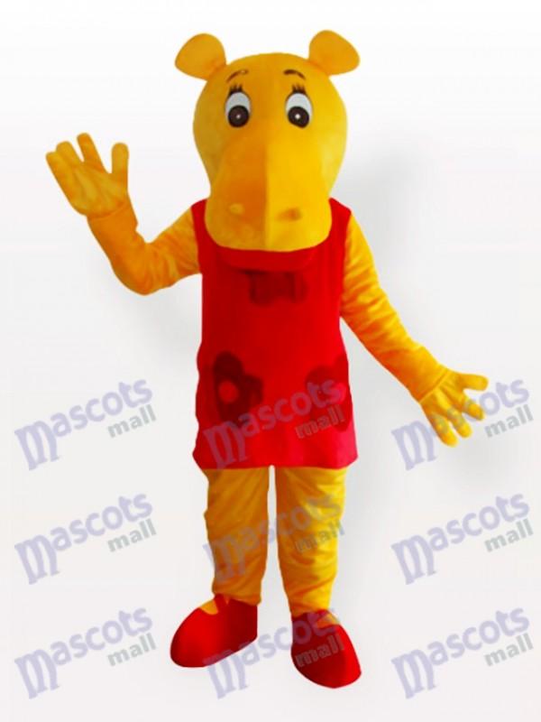 Hipopótamo Disfraz de mascota