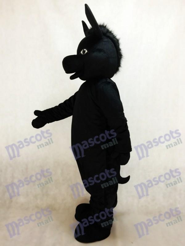 Burro donald negro Disfraz de mascota Animal
