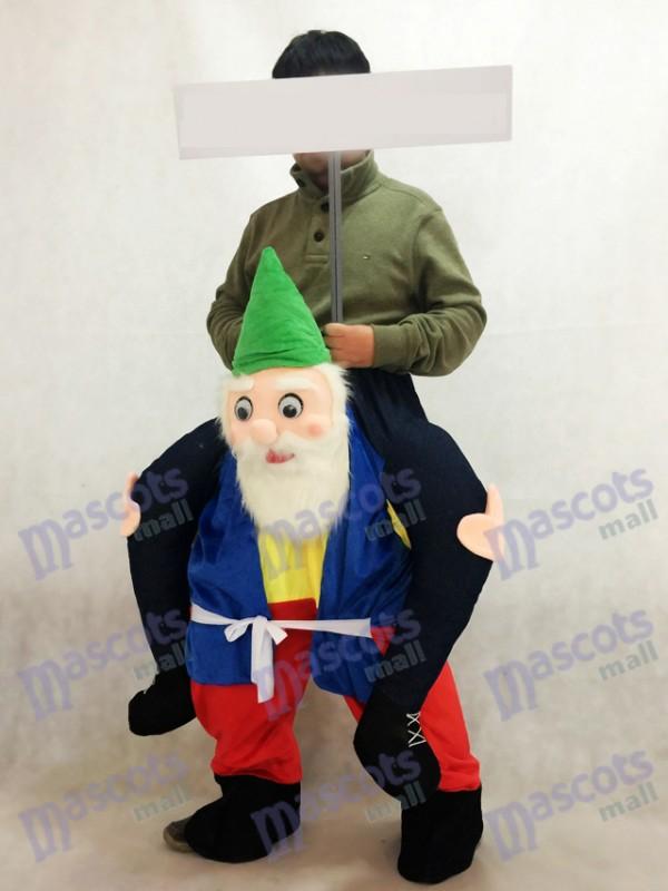 Jardinero con sombrero verde Carry Me Ride People Disfraz de mascota