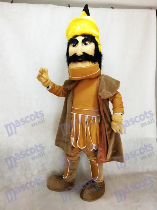 Guerrero troyano con una capa Disfraz de mascota Personas