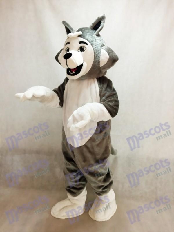 Amistoso Gris Germán Perro husky Disfraz de mascota Animal