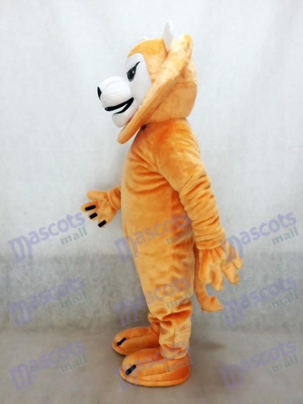 León feroz y malo Disfraz de mascota Animal