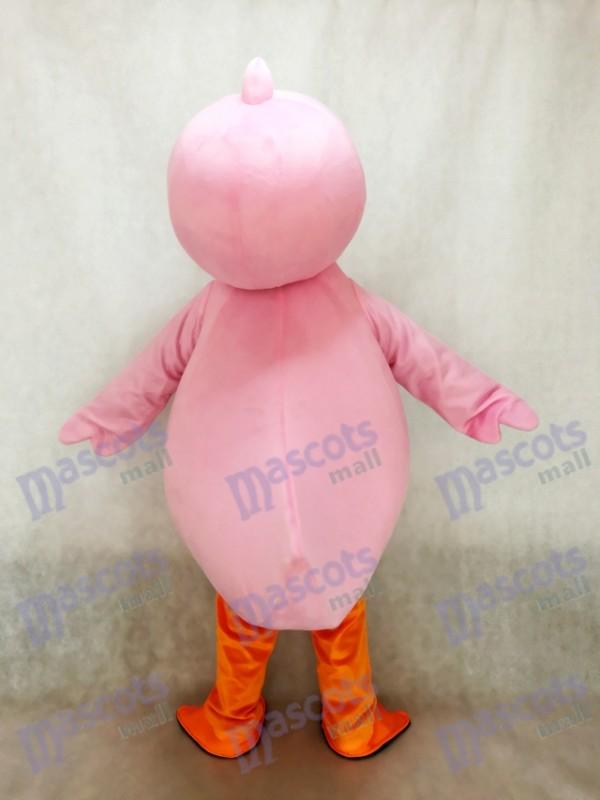 Pato rosado lindo Disfraz de mascota Animal