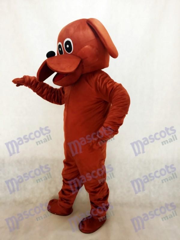 Lindo perro rooney marrón Disfraz de mascota Animal