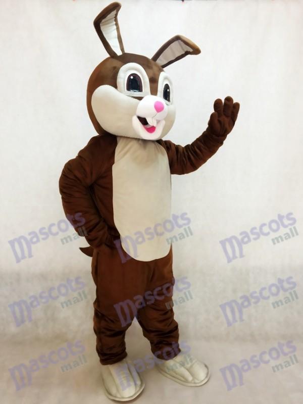 Nuevo Conejo de Pascua de Chocolate Disfraz de mascota Animal