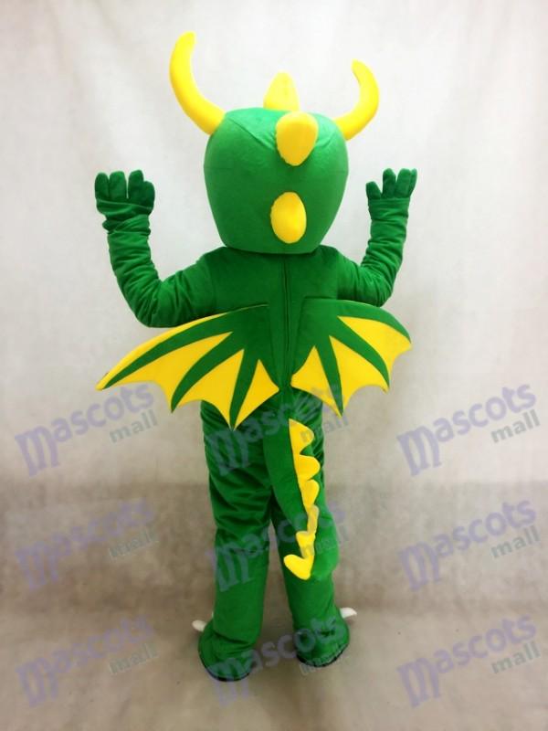 Dinosaurio verde Disfraz de mascota Animal