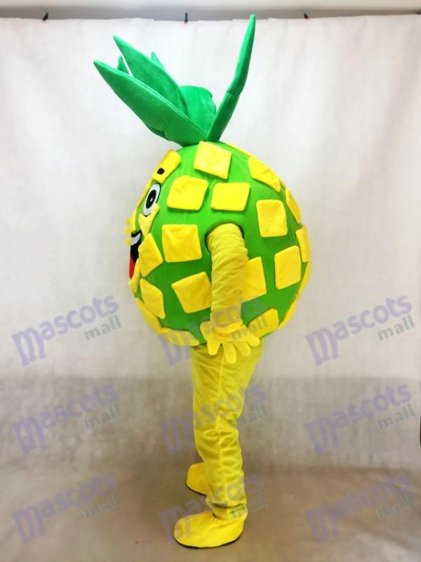 Piña amarilla Pete Disfraz de mascota Fruta