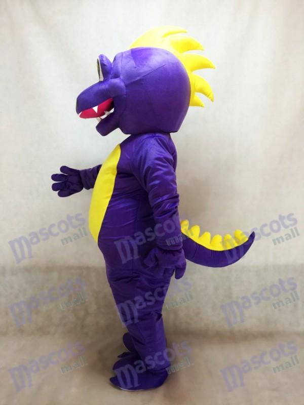 Lindo Dragón Dunkan Morado Disfraz de mascota Animal
