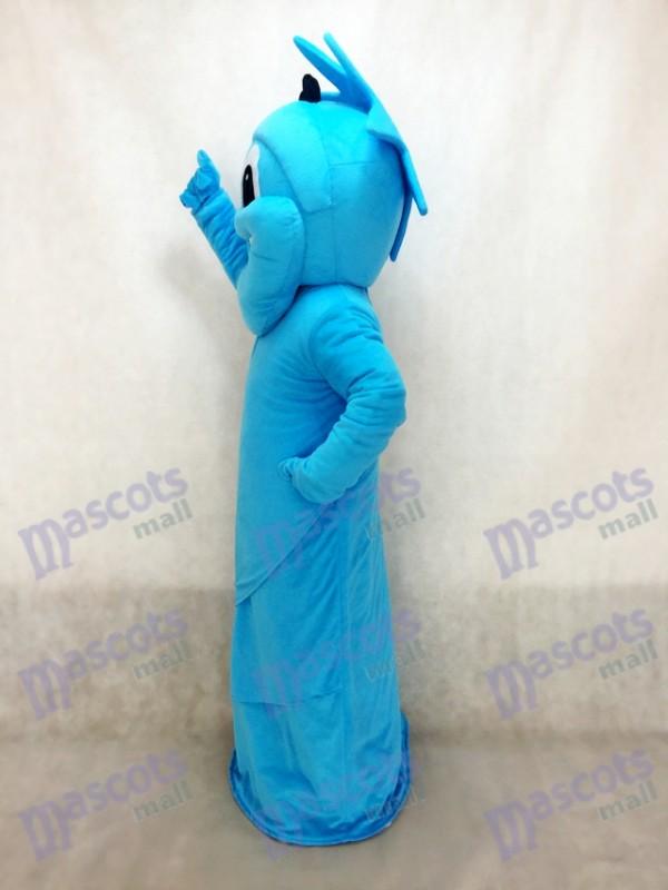 Estatua azul de la libertad Disfraz de mascota