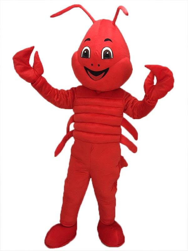 Langosta roja Disfraz de mascota Animal