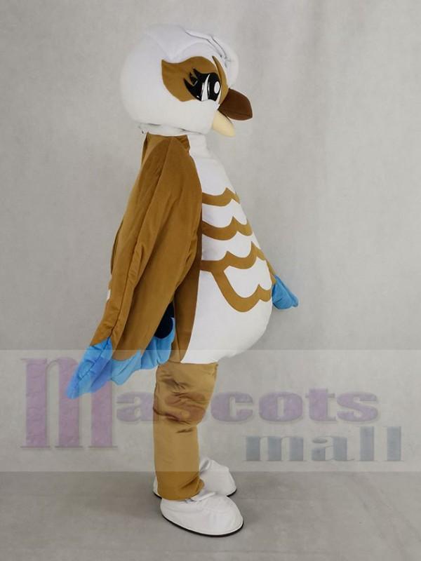 Pájaro disfraz de mascota