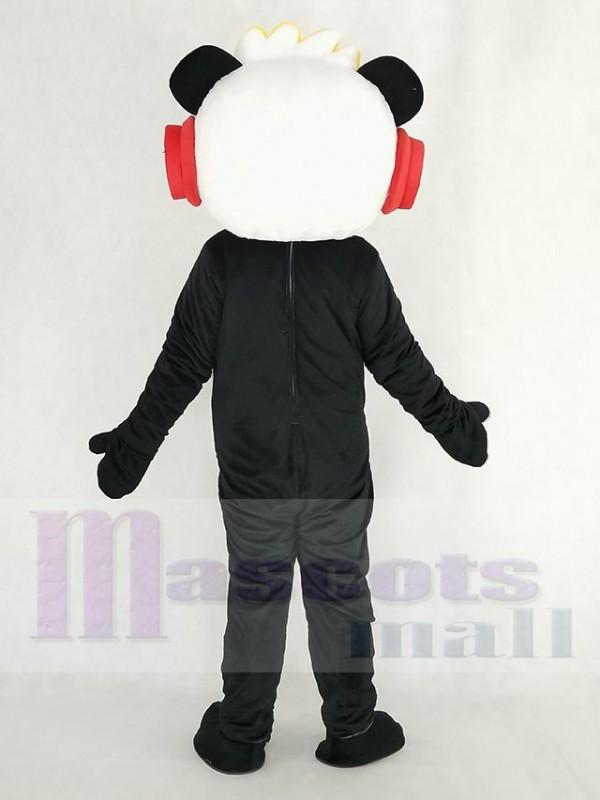 Panda combo disfraz de mascota