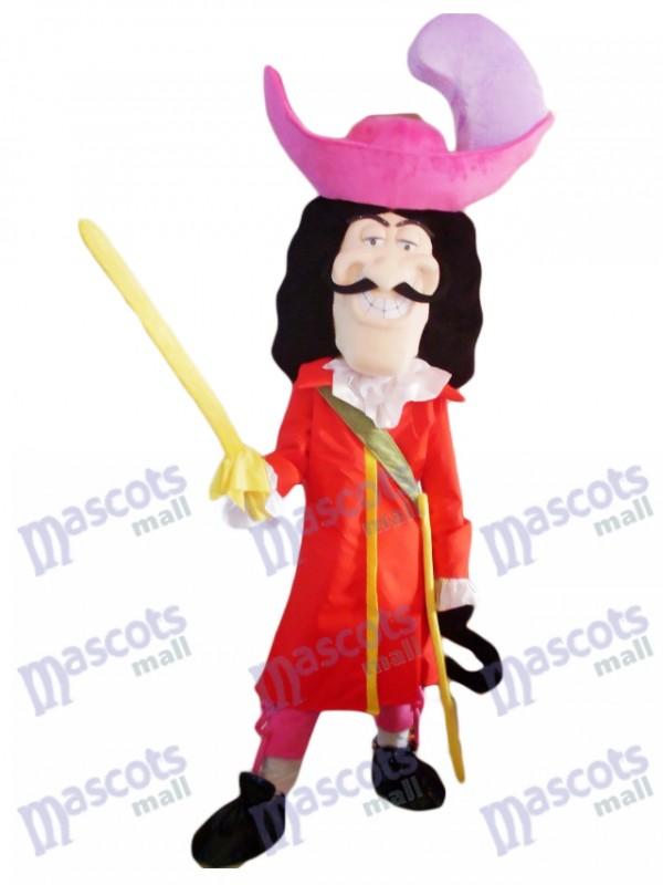 Pirata espadachín Disfraz de mascota