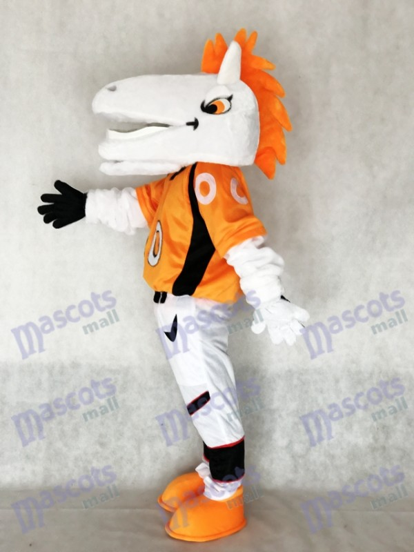 Caballo mustang Broncos Disfraz de mascota