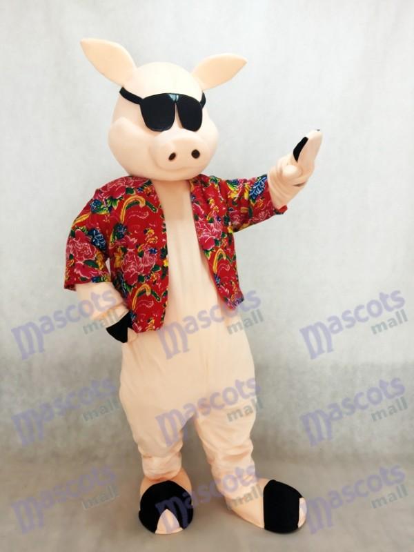 Cerdo lechón Disfraz de mascota
