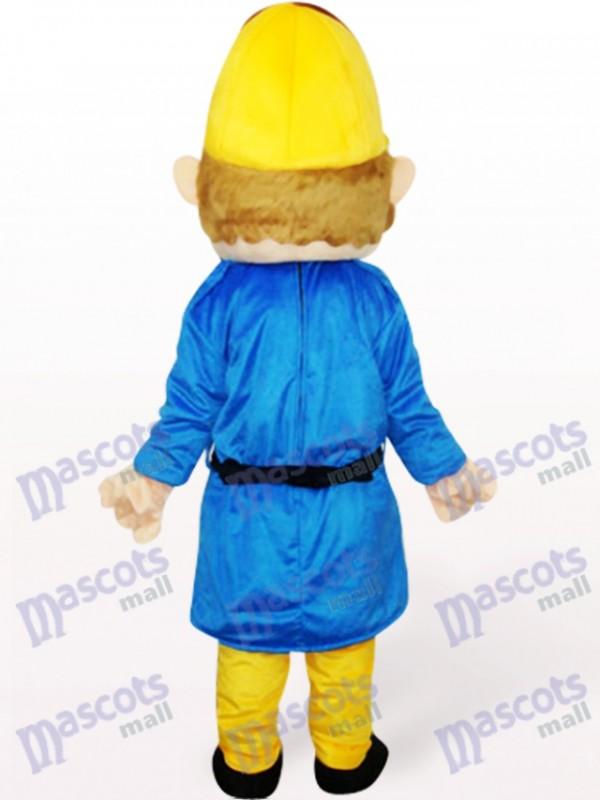 trabajador Disfraz de mascota