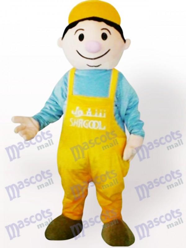 niño minero Disfraz de mascota