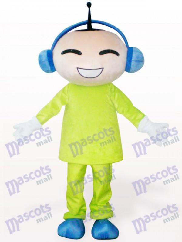 muñeca de antena Disfraz de mascota